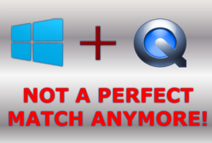 Quicktime for Windows PC is advised to be Uninstalled by Apple