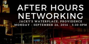 AFTER HOURS NETWORKING AT JACKY'S WATERPLACE AND SUSHI BAR