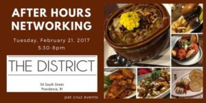 After Hours Networking at The District Rhode Island