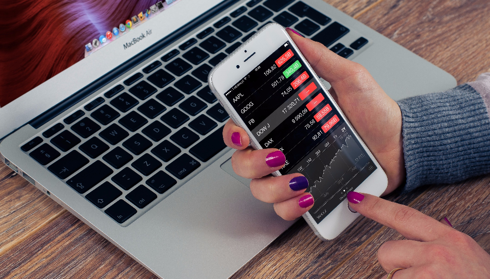 stock broker mobile apps